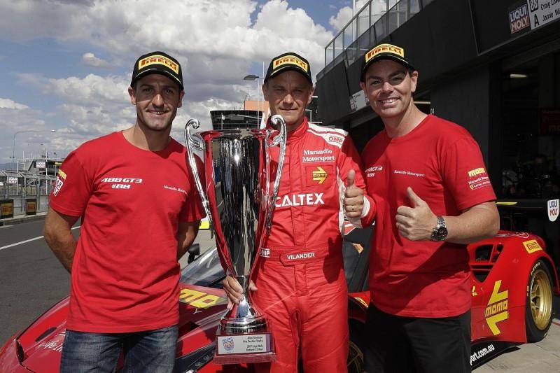 Toni Vilander grabs Bathurst 12 Hour pole for Maranello Ferrari