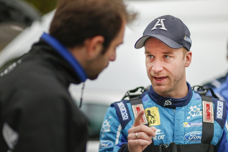 Mads Ostberg in race against time for private WRC Ford's debut