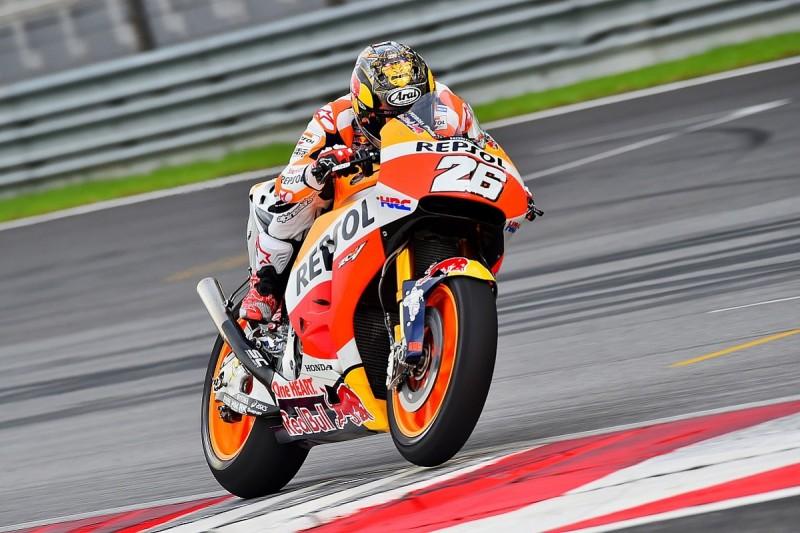 Honda can't fix its electronics issues at Sepang MotoGP test