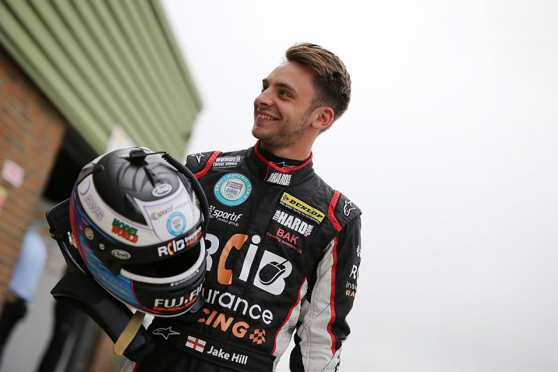 Jake Hill retains BTCC seat to complete Team Hard's 2017 line-up