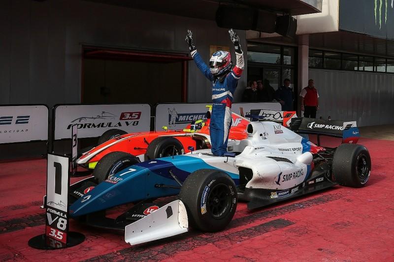 FV8 3.5 race winner Orudzhev switches to title-winning AVF team
