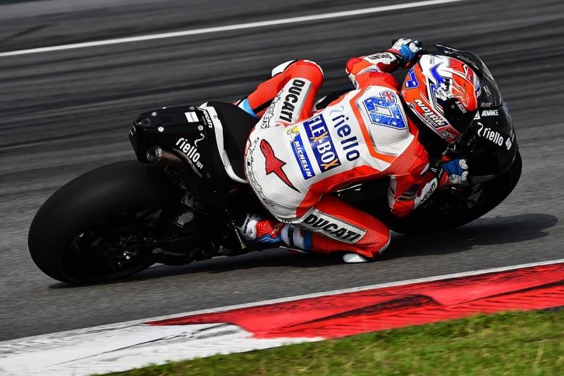 Casey Stoner sets Sepang MotoGP testing pace for Ducati