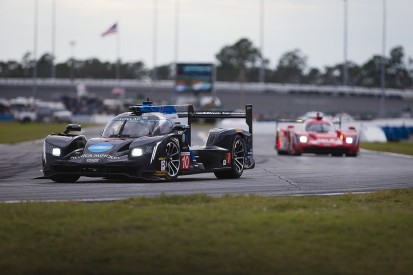 Daytona 24 Hours: Cadillac in charge two-thirds into rain-hit race