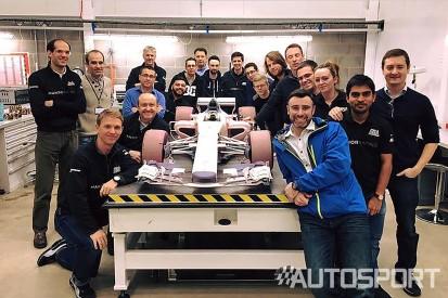 Manor F1 team reveals image of 2017 F1 car design model