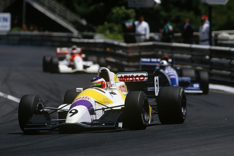 Name of Zanardi and Barrichello's F3000 team revived in FV8 3.5