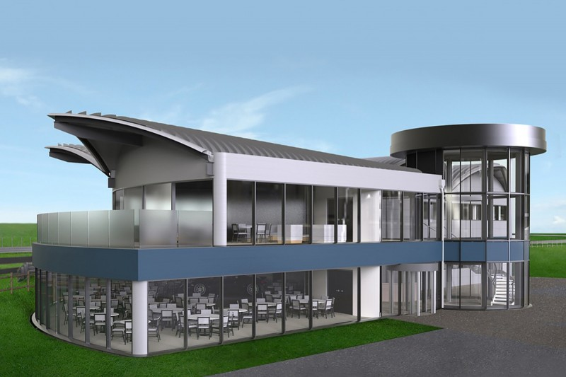 Thruxton circuit to add first new building in more than 30 years