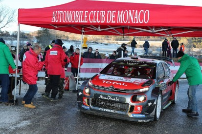 Kris Meeke's Monte Carlo Rally ended by road section collision