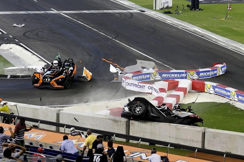 F1's Wehrlein explains violent Race of Champions crash with Massa