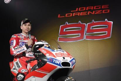 Ducati hails 2017 MotoGP signing Jorge Lorenzo's humility