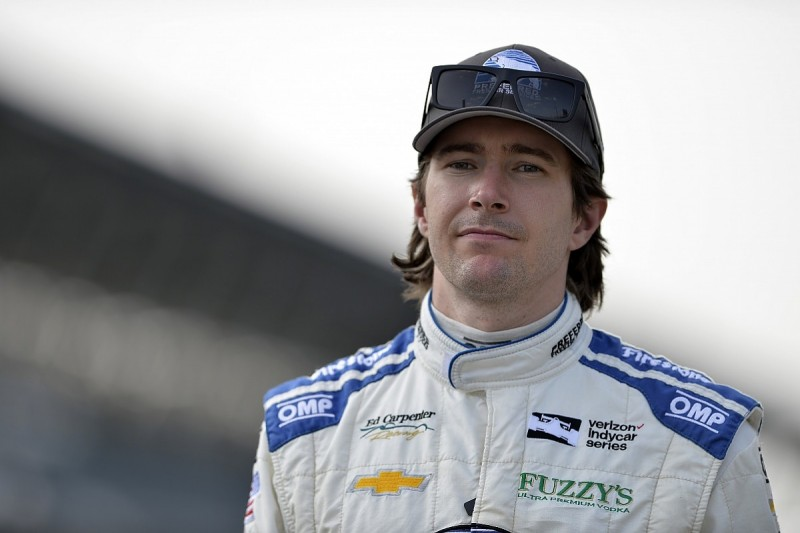 IndyCar driver JR Hildebrand feels 'sense of urgency' to repay ECR