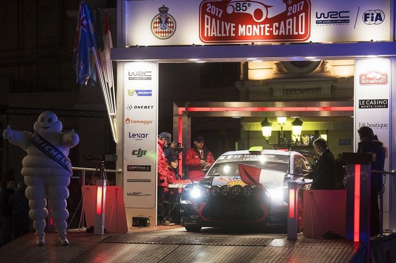 Hayden Paddon crash halts Monte Carlo Rally's opening stage