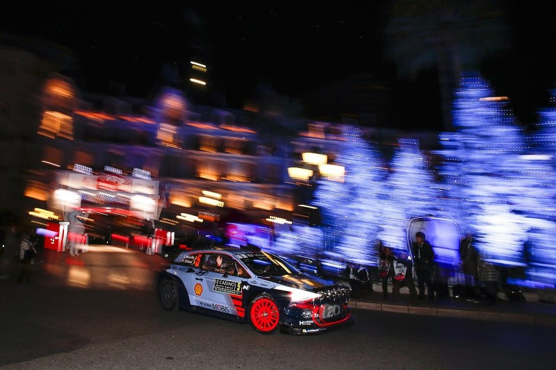 WRC Monte Carlo Rally: Thierry Neuville holds provisional lead