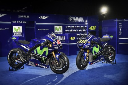 Yamaha 2017 MotoGP bike launched with Rossi and Vinales