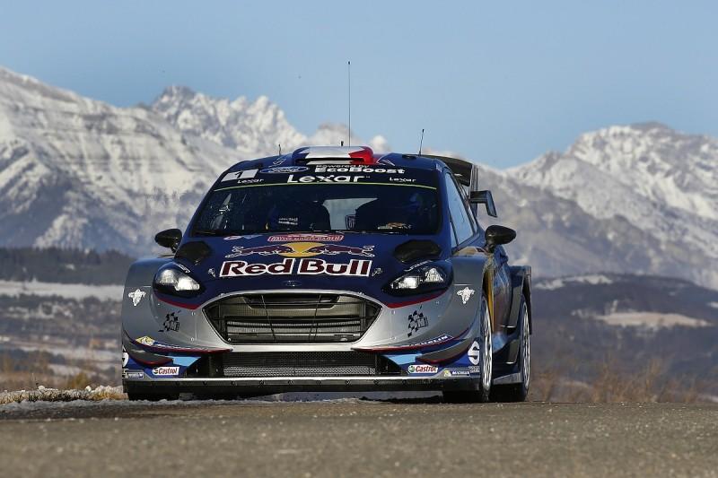 WRC Monte Carlo Rally: Sebastien Ogier tops first shakedown of 2017