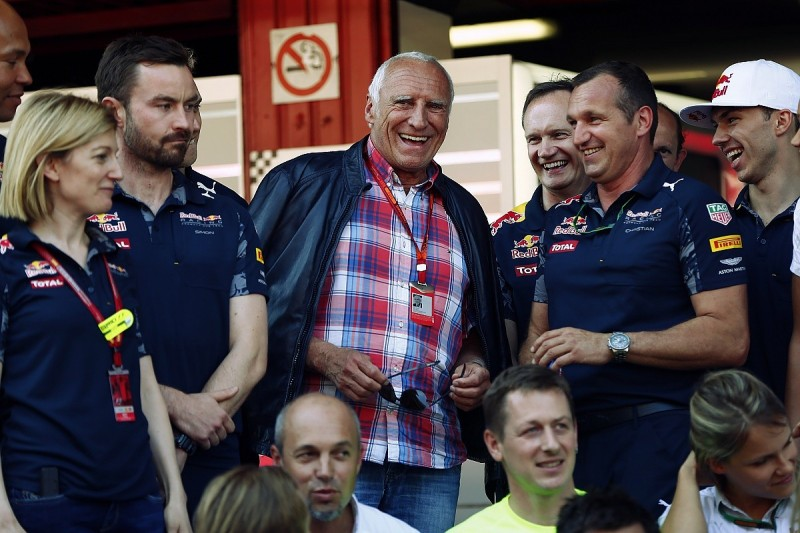 Red Bull's Dietrich Mateschitz plays down F1 chances in early-2017