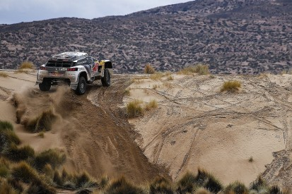 Peterhansel given Dakar Rally lead back after collision with biker