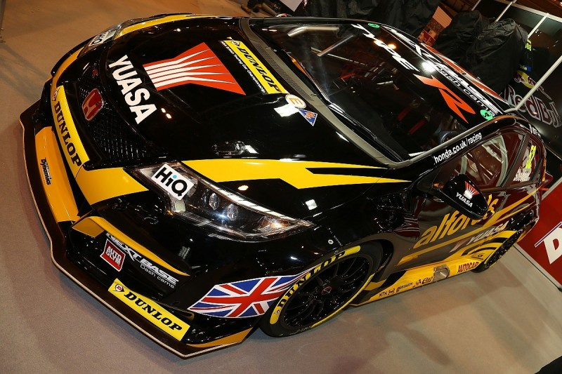 New livery for BTCC Hondas in 2017 unveiled at Autosport International