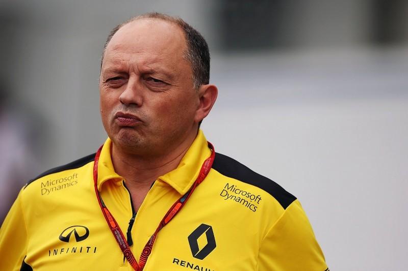 Renault F1 team boss Frederic Vasseur resigns ahead of 2017