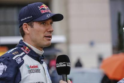 Sebastien Ogier crashes on pre-Monte Carlo M-Sport WRC test