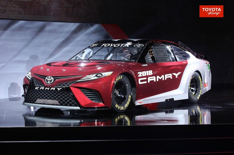 New NASCAR Toyota: 'Aggressive' 2017 Cup contender unveiled