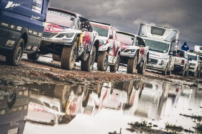 Seventh stage of 2017 Dakar Rally halved due to wet weather
