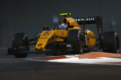 Renault F1 driver Palmer expected even tougher 2016 season
