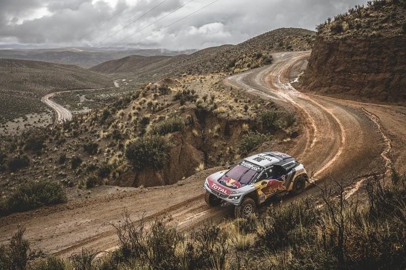 Dakar 2017: Loeb wins shortned stage five, Peterhansel takes lead