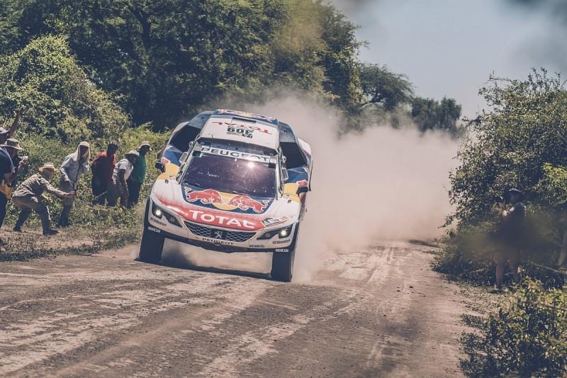 Dakar Rally leader Loeb 'got screwed' by bike tracks in third stage