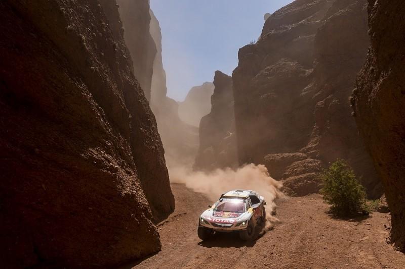 Peterhansel heads Peugeot 1-2-3 as Loeb retains overall Dakar lead