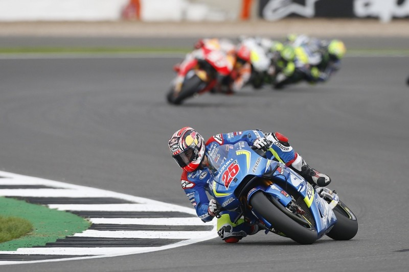 Pace gains more important to Suzuki than Silverstone MotoGP win