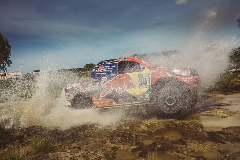 Dakar Rally: Nasser Al-Attiyah wins stage one then hits trouble