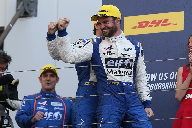 Nicolas Lapierre to defend LMP2 WEC crown with Signatech Alpine