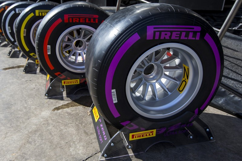 F1 2017 tyre compounds for first two races revealed