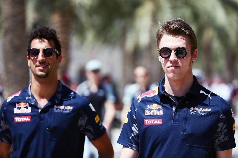 Kvyat: I matched Ricciardo during spell as Red Bull F1 team-mates