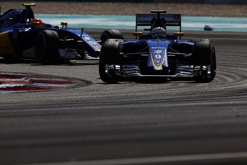 Sauber not classing 2017 Formula 1 season as transition year