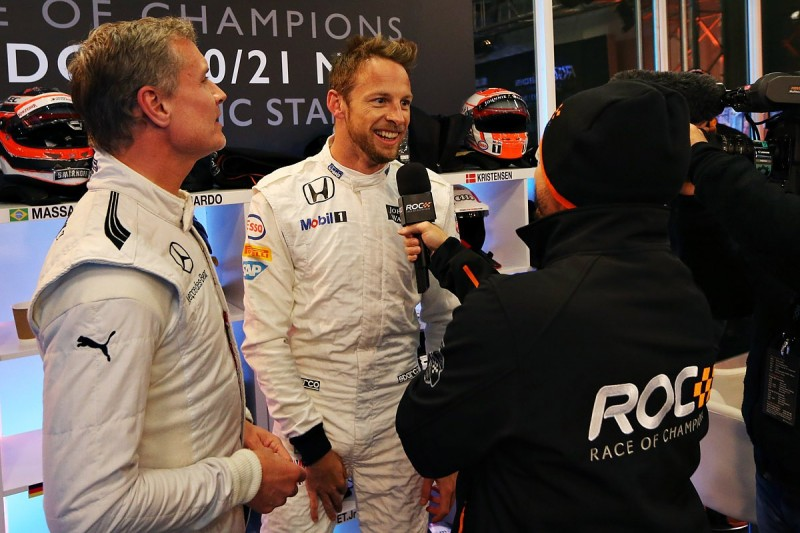 F1 winners Button and Coulthard join 2017 Race of Champions field