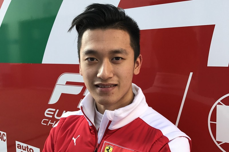 Ferrari Driver Academy member Zhou joins Prema for 2017 F3 season