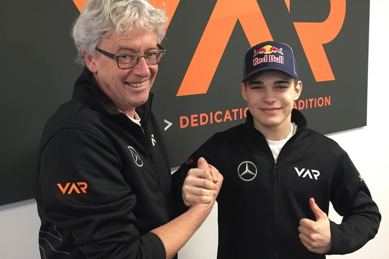 Beckmann switches to Van Amersfoort Racing for 2017 Formula 3