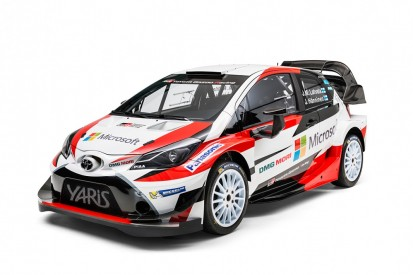 Incoming Toyota launches 2017 Yaris WRC, signs Latvala and Lappi