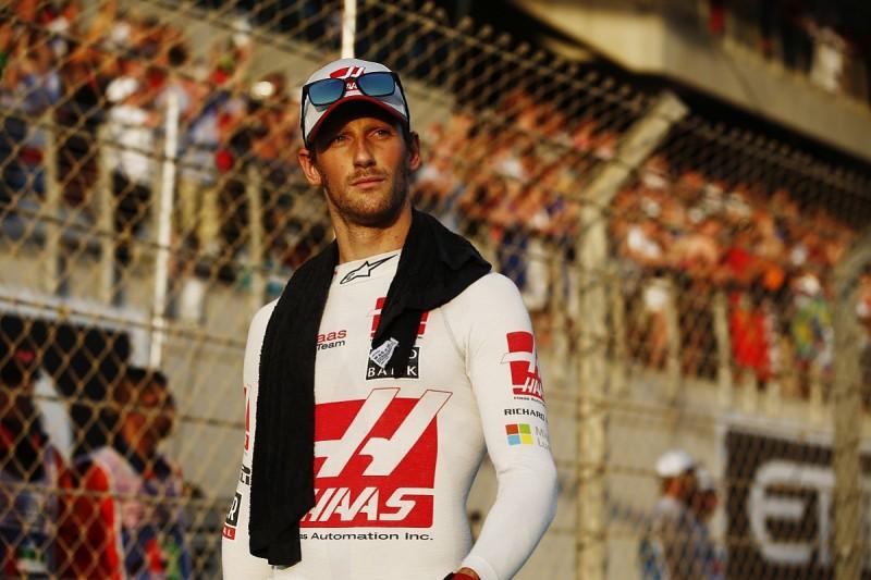 Haas F1 driver Grosjean to make ice-racing return in Andros Trophy