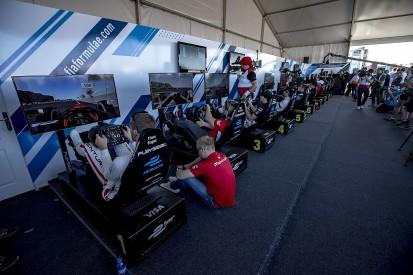 Gamers join Formula E teams for Las Vegas eSports shootout