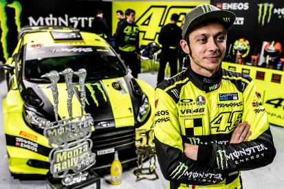 Valentino Rossi takes fifth Monza Rally Show victory