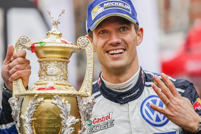 Autosport Awards 2016: Sebastien Ogier wins Rally Driver award