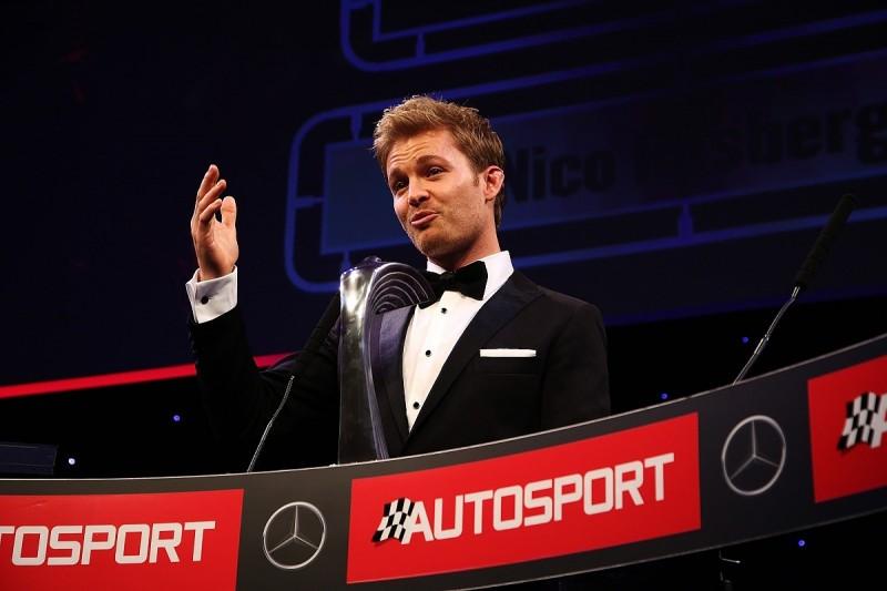 Autosport Awards 2016: Nico Rosberg wins International Racing Driver