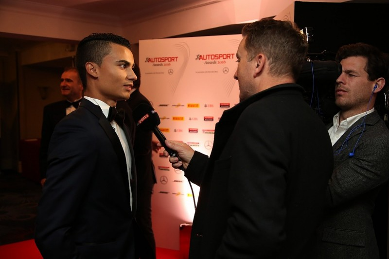 Autosport Awards 2016: Pascal Wehrlein wins Rookie of the Year