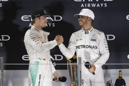 Autosport Awards: Mercedes F1's Rosberg and Hamilton among nominees