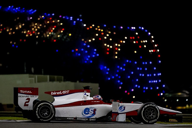 GP2 testing: Alexander Albon fastest on day two in Abu Dhabi