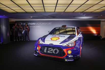 Hyundai launches its 2017 World Rally Car for new regulations