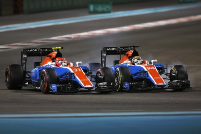 Manor F1's Ocon and Wehrlein blame each other for Abu Dhabi clash