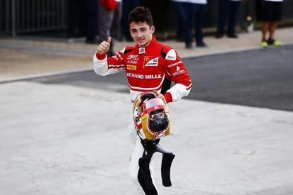Ferrari F1 junior Charles Leclerc wins GP3 title despite collision